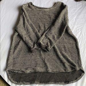 3/4 sleeve lightweight sweater
